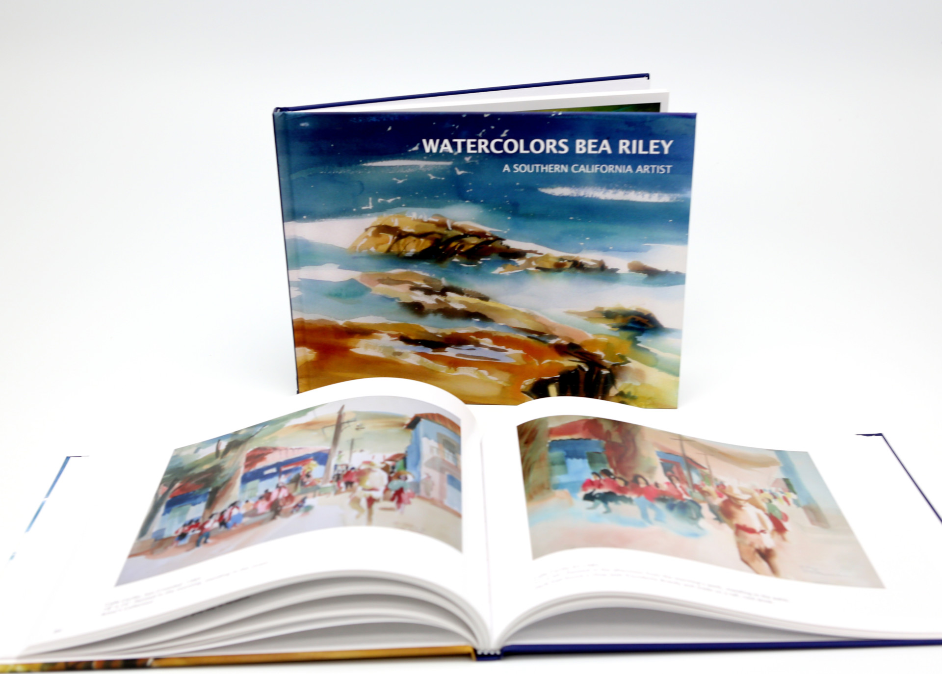 Watercolor Coffee Table Book