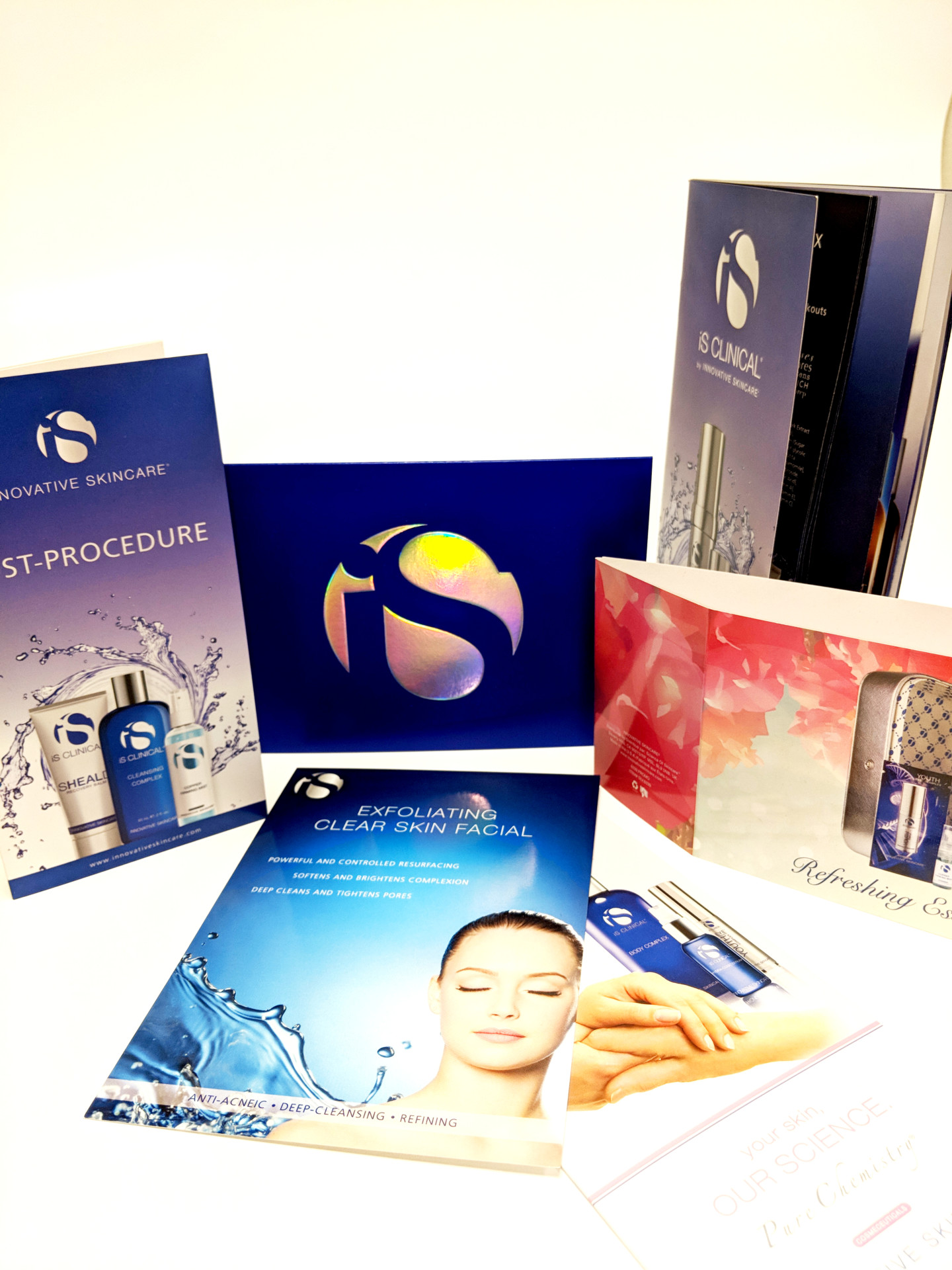 Coordinated Beauty Marketing & Product Collateral
