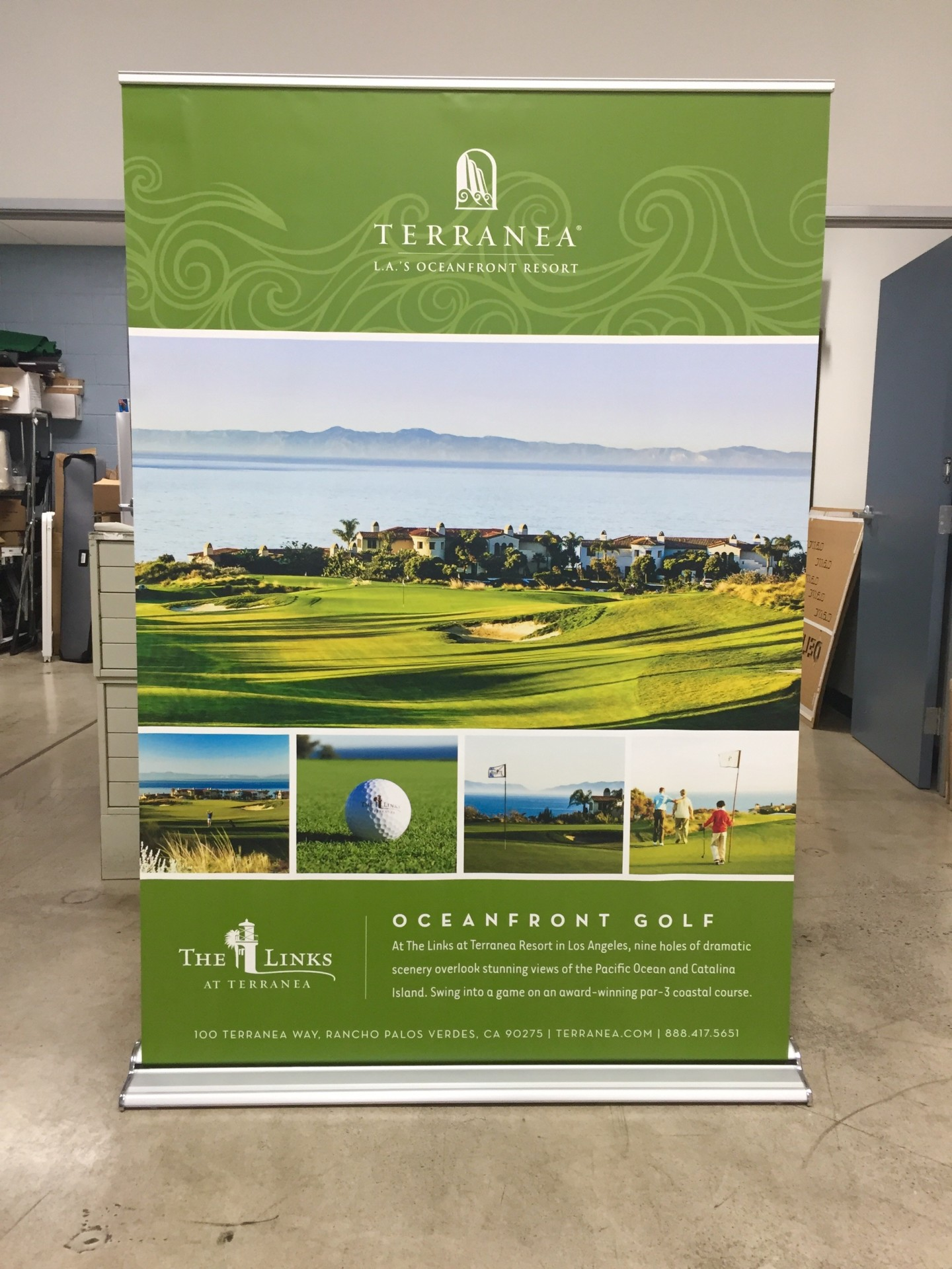 Retractable Banners with Graphics