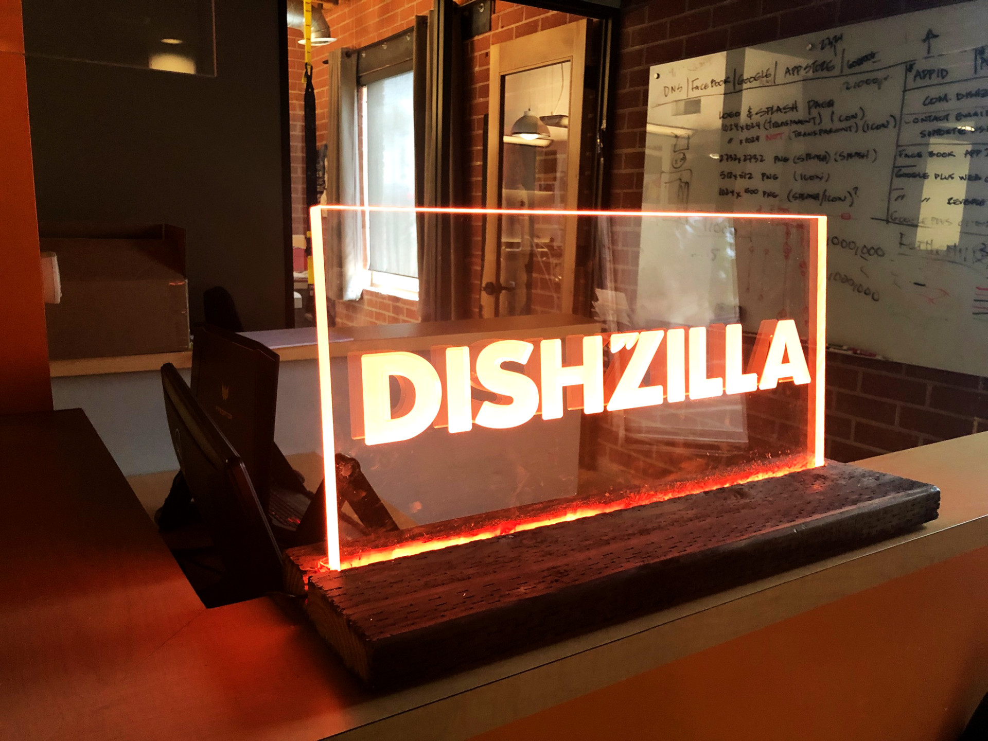 Wow Signage Using LEDs + Clear Acrylic