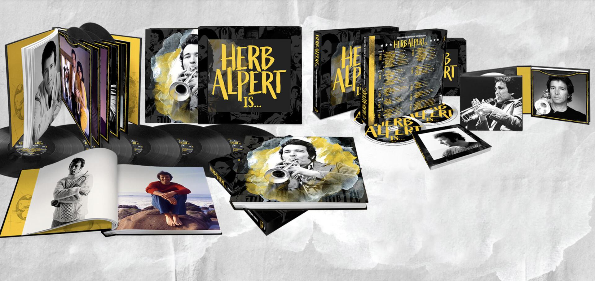 Deluxe Vinyl & CD Packaging for Legend Herb Alpert