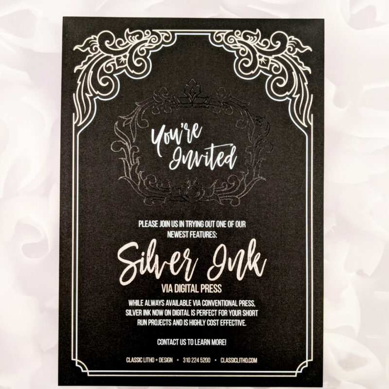 Classic Litho and Design - Silver Ink Demo 8 copy
