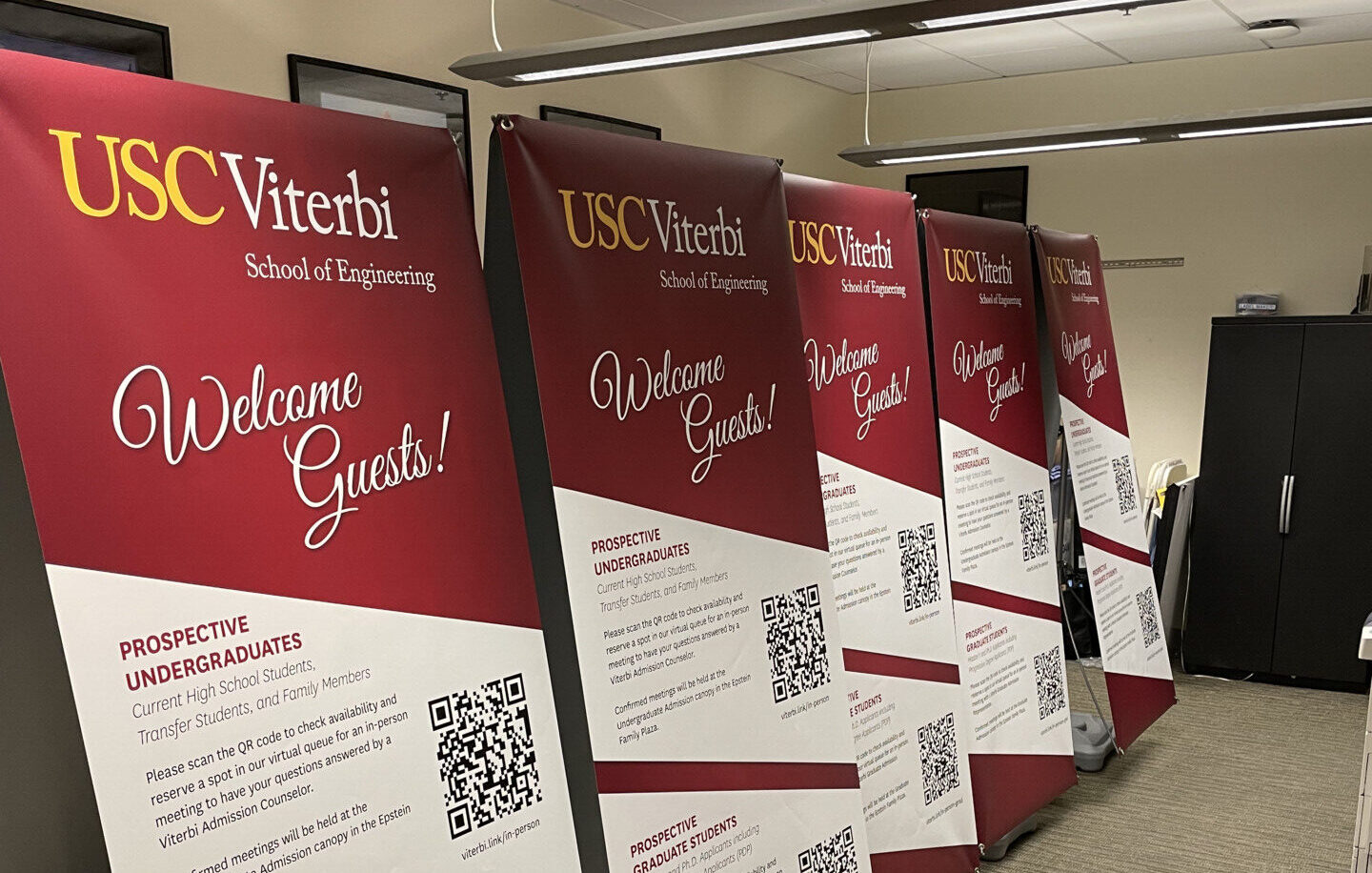 Creative Signage for In-Person Activities at USC
