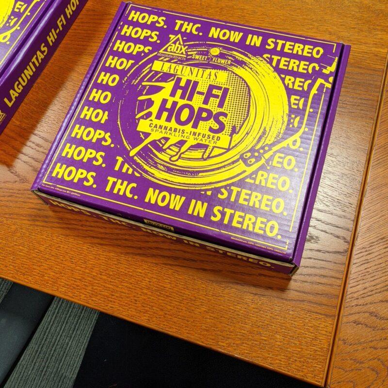 Classic Litho - Lagunitas Hi-Fi Hops Pizza Box1