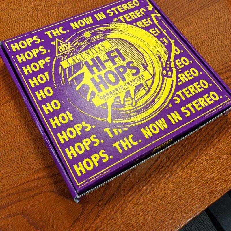Classic Litho - Lagunitas Hi-Fi Hops Pizza Box3